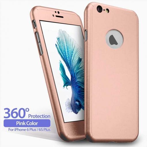 4f483b6877d Funda 360 Carcasa + Protector Cristal Templado Para Iphone 6 Plus 6s Plus  5.5