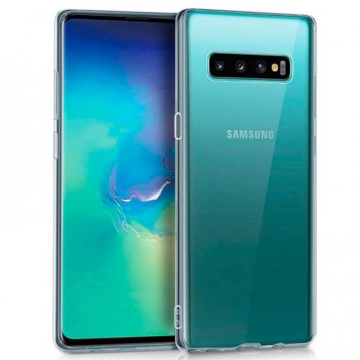 a19d161c462 Cool® - Funda Silicona Samsung Galaxy S10 Plus Transparente ( G975 )  Carcasa Trasera Protectora Gel Tpu