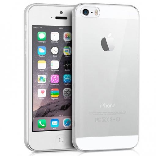 cece5d6f42b Cool® - Funda Silicona Iphone 5 / Iphone 5s / Iphone Se Transparente ( Gel  Tpu ) Carcasa Trasera Protectora