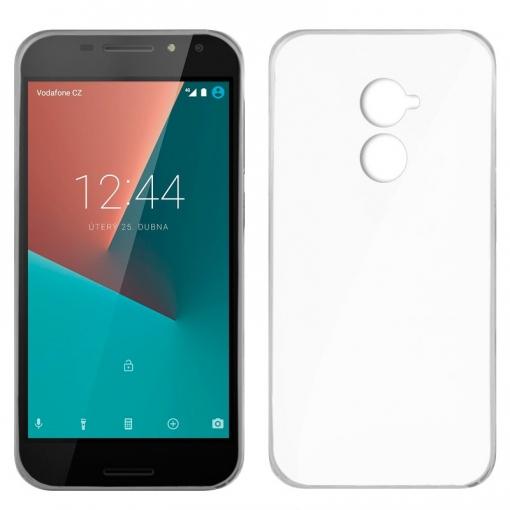 869afbd8397 Cool® - Funda Silicona Vodafone Smart N8 Transparente ( Gel Tpu ) Carcasa  Trasera Protectora