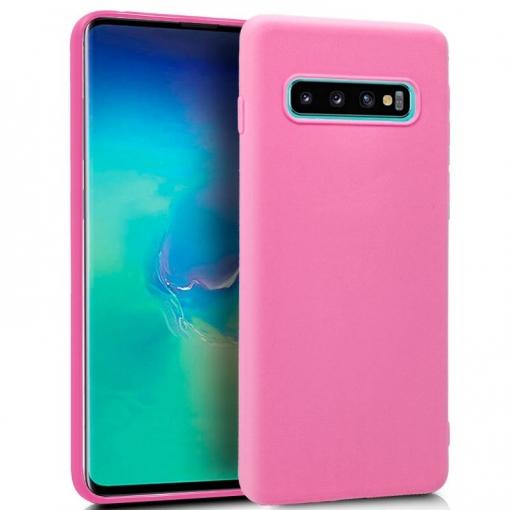 bb6d67fc621 Cool® - Funda Silicona Samsung Galaxy S10 Plus Rosa ( Gel Tpu ) Carcasa  Trasera Protectora