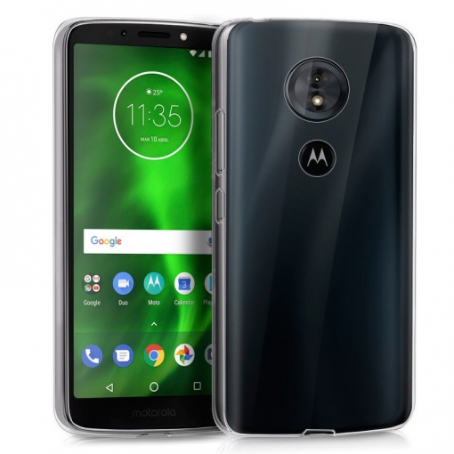 31d5dc1bd7c Cool® - Funda Silicona Motorola Moto G6 Play / Moto E5 Transparente ( Gel  Tpu ) Carcasa Trasera Protectora