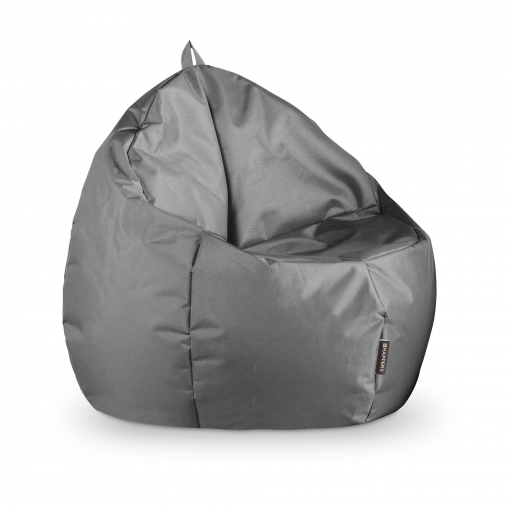 Puff Junior Naylim Impermeable Gris Happers Único