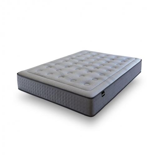 Tanuk Colchon Viscografeno Platinum Con Muelles Ensacados 80x180