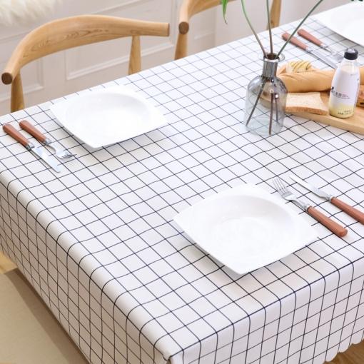 Mantel Para Mesa De Cocina O Salón, Lavable, Diseño De Hojas, Pvc,  Diferentes Tamaños, 135 X 135 Cm