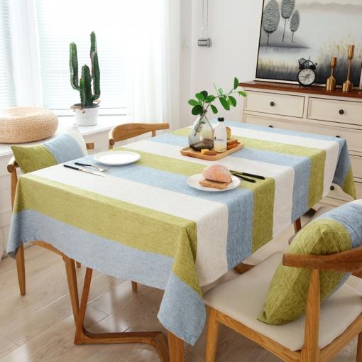 Mantel Para Mesa De Cocina O Salón, Lavable, Diseño De Hojas, Chenille,  Diferentes Tamaños, 135 X 200 Cm