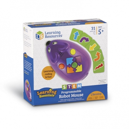 Learning Resources Code And Go Ratón Robot Stem Programable