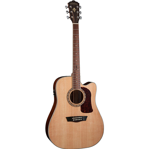 Washburn Guitarra Acústica Hd-10sce | Las mejores ofertas de Carrefour