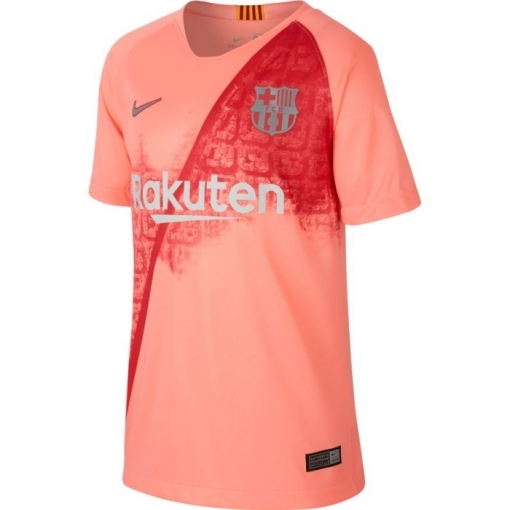 c6f08805f191c Camiseta Nike Barcelona Tercera Equipación 18 19 Rosa Niño