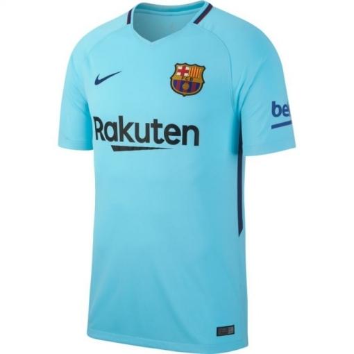 Camiseta Fútbol F.c Barcelona 2ª Celeste 2017 18 Adulto  2f897513cac