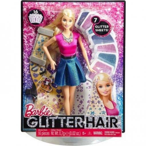 Barbie Mechas Purpurina | Las mejores ofertas de Carrefour