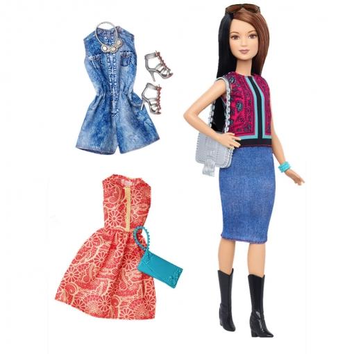 Barbie Muñeca Barbie Fashionistas Pretty In Paisley Dtf04 | Las ...