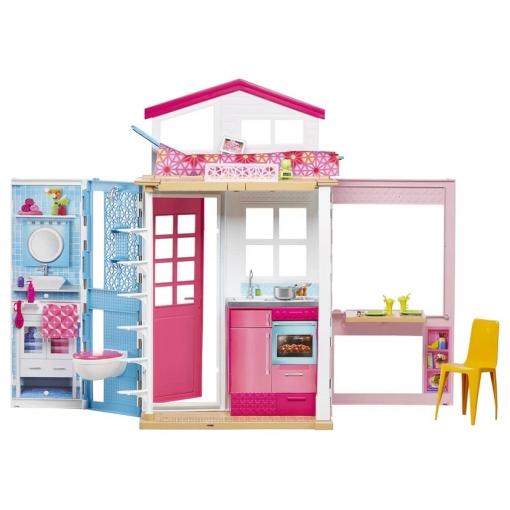Barbie 2 Casa De Cuento Dvv47 | Las mejores ofertas de Carrefour