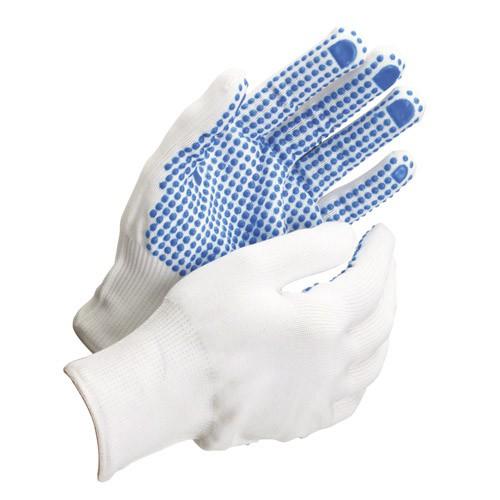 "Guante Nylon Puntos Pvc Azules 7"" (par) - Neoferr"