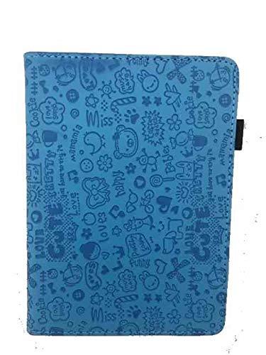 """Theoutlettablet Funda Ebook Bq Cervantes 4 6"""" / Cervantes 3 6"""" - Protección Para Libro Electrónico - Color Azul Dibujos"""