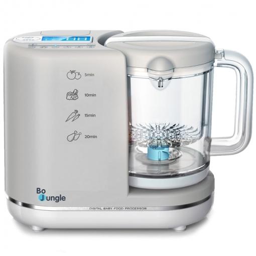 Bo Jungle Robot De Cocina Para Bebés B Digital 6 En 1 Gris B580000