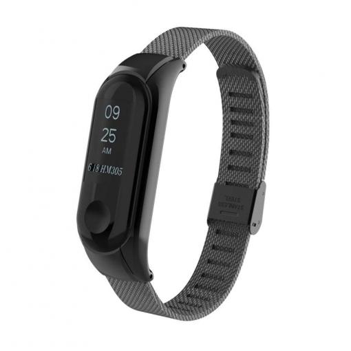 16e5cccf750d Theoutlettablet® Xiaomi Mi Band 3 Correa De Metal Pulsera Recambio Para  Pulsera Reloj Mi Band