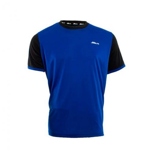 b6872885cc7a8 Camiseta Siux Hermes Azul Negro