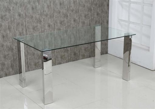 Mesa Cocina/comedor Cristal 160x90x74 Cm | Las mejores ofertas de ...