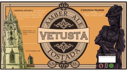 Cerveza Nurse Vetusta Pack 24