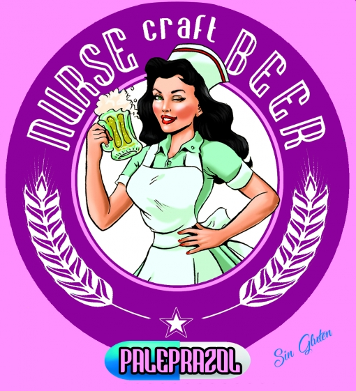 Cerveza Nurse Paleprazol (sin Gluten) Pack 12