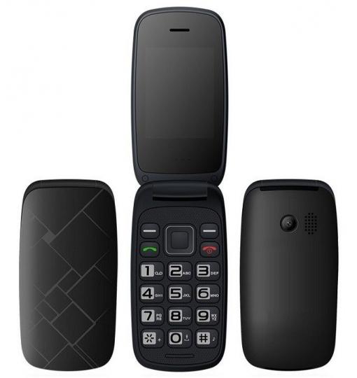 Telefono Basico Tipo Concha Libre Con Dual Sim Camara Y Teclas