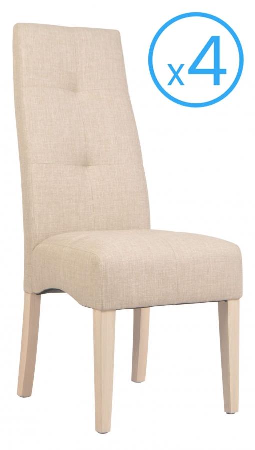 sillas beige de madera