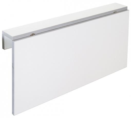Mesa Cocina Plegable Blanca Vera Diseño Moderno Abatible Funcional  Suspendida Pared 80x10-50