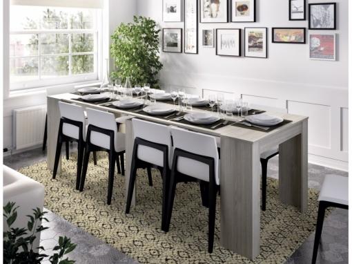 Mueble Cocina O Consola, De 54 Cm A Los 239 Cm De Largo ( 5 Posiciones )  Gris