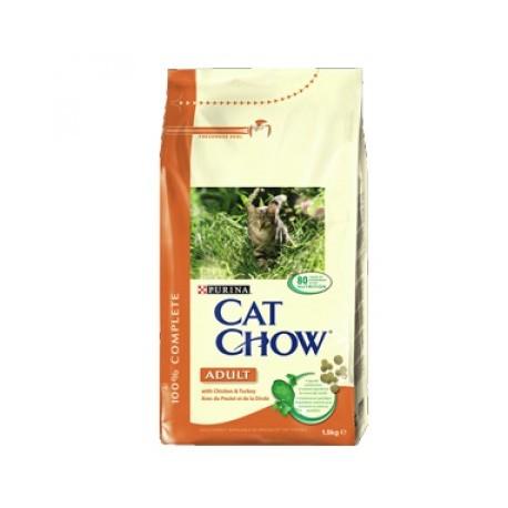 Pienso Para Gatos Adultos Cat Chow Pollo 1.5 Kg