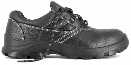 Foxter - Zapatos De Seguridad | Zapatillas De Trabajo Para Hombre | Transpirables | Impermeable | Piel Negra | S3 Src