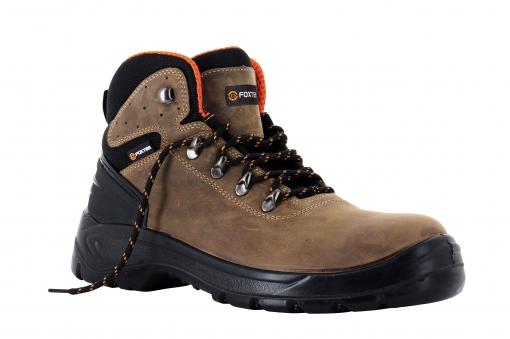 Foxter - Zapatos De Seguridad   Botas De Trabajo Para Hombre   Impermeable   S3 Src