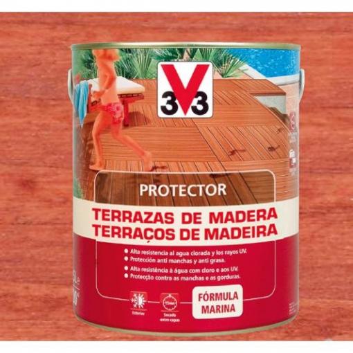 Protector Terraza De Madera Classic Teca 1l Con Ofertas En Carrefour Las Mejores Ofertas De Carrefour