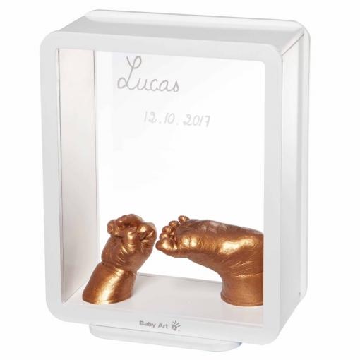 Baby Art Marco Para Impresión De Huella De Bebé My Baby 3d Blanco