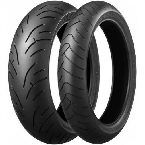 Bridgestone 180 / 55zr17 73w Bt-023r E Neumático De Moto De Carretera
