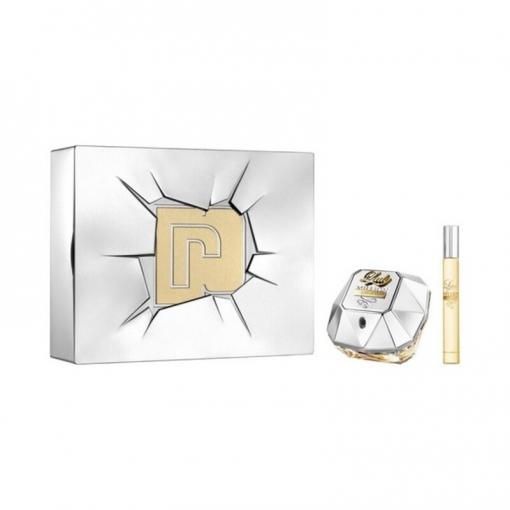 Paco Rabanne Lady Million Edp 80ml Spray + Miniatura 10ml