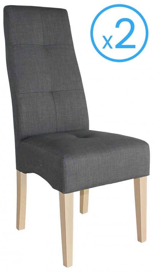sillas de comedor color gris