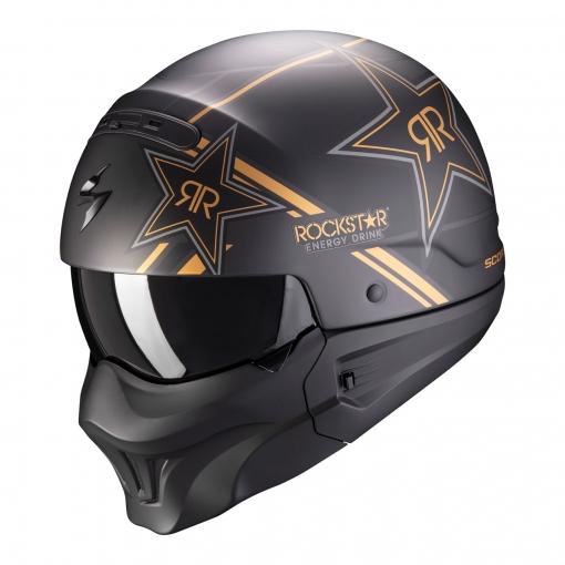Casco Scorpion Exo-combat Evo Rockstar