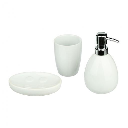 Conjunto Para Baño Modelo Sun Color Blanco