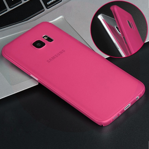 Producto Original Donkeyphone® - Funda Gel Rosa Para Samsung Galaxy S7 Edge G935f Silicona Ultra Thin - Ultra Fina 0,33 Mm