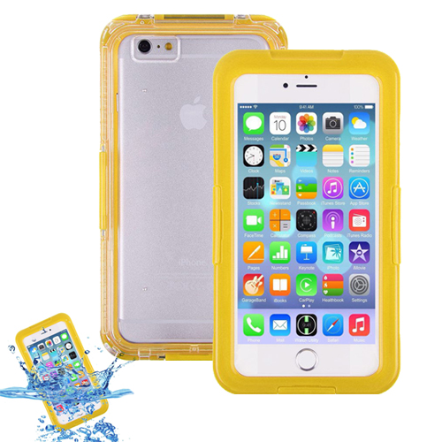 Carcasa Acuatica Amarilla Para Iphone 7 Funda Sumergible Waterproof