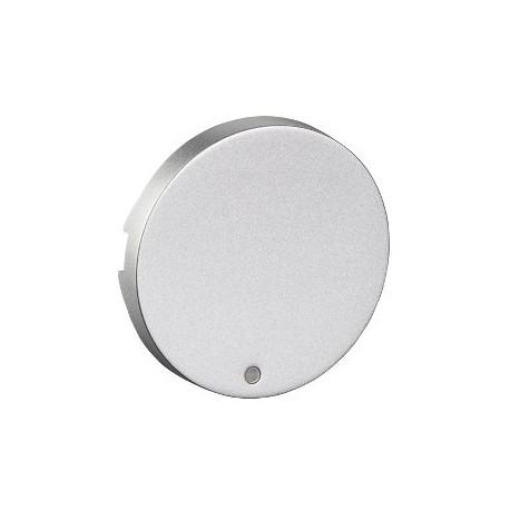 Tecla Simple Con Visor Odace Plata Schneider S530297