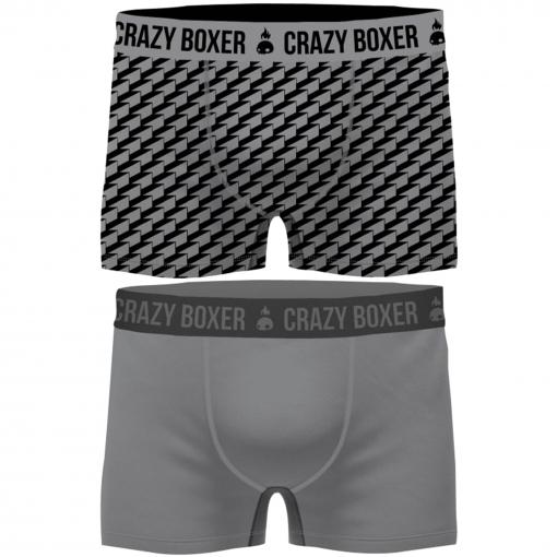 Nunca diámetro taza  Pack 2 Calzoncillos Crazy Boxer Multicolor Para Hombre con Ofertas en  Carrefour | Las mejores ofertas en moda - Carrefour.es