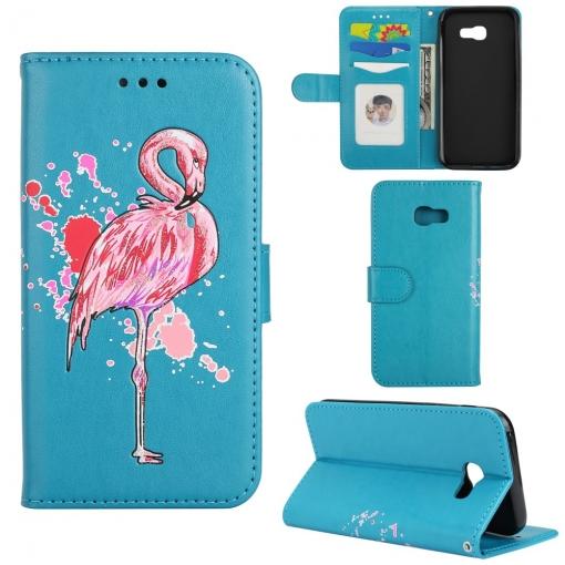 Funda De Pu Flamingos Stand Para Samsung Galaxy A5 (2017)  f7572084248f9