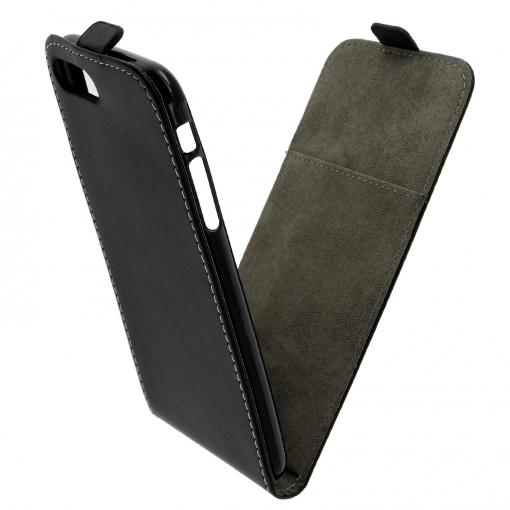158069e32a2 Funda Iphone 7 Plus , Iphone 8 Plus Tapa Vertical Billetera Carcasa - Negro