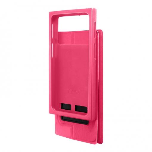 00f6c66f0fa Funda Con Ventana Universal Para Smartphone 6,4'' F. Soporte - Rosa ...