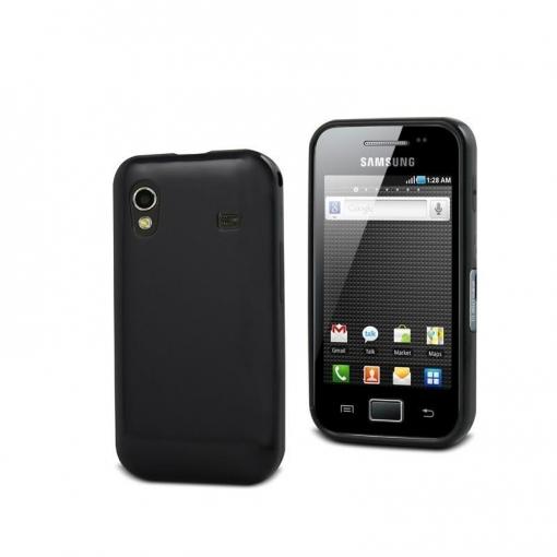 803fe3e785f Muvit Muski0007 - Funda Minigel Para Samsung Galaxy Ace S5830, Negro ...