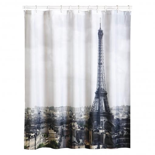 Cortinas Bano Carrefour.Cortina De Bano 180 X 200 Cm City Paris
