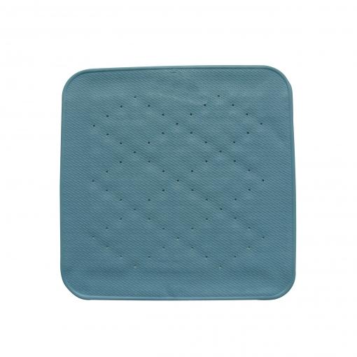 Alfombra Ducha Azul 54x54