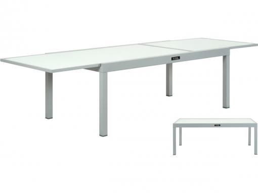 Mesa Para Jardín Extensible En Aluminio \